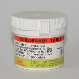 Turanabol 100 (British Dispensary)