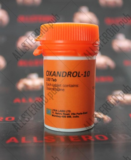Oxandrol 10 от Lyka labs