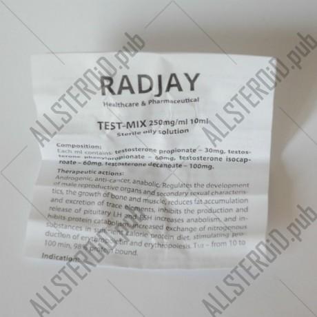 Test-Mix 250 (Radjay)