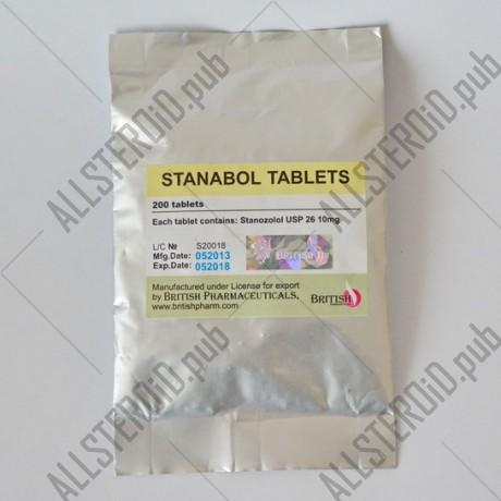Станабол 200 таблеток, British Pharmaceuticals
