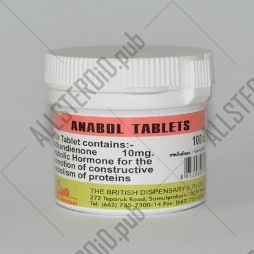 Анабол 100 таблеток, British Dispensary